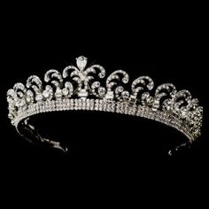 Kate Middleton Inspired Royal Wedding Replica Princess Bride Tiara