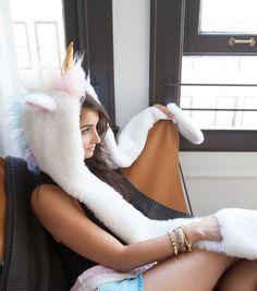 La capuche qui va vous transformer en une licorne plus vraie que nature !