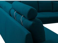 Canapé VISBY n°3 Angles, Couch, Living Room, Home Decor, Tela, Gray, Colors, Teal, Fabric