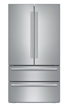 """Bosch 800 Series 36"""" Counter Depth French Door Refrigerator-Stainless Steel-B21CL81SNS"""