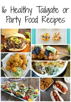 Some great ideas here! Healthy Tailgate or Football party food - Low Calorie, Low Fat Recipes