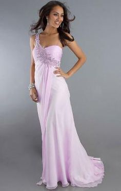 Classy Long Pearl Pink Tailor Made Evening Prom Dress (LFNAE0036) http://www.marieprom.co.uk/prom-dresses-uk