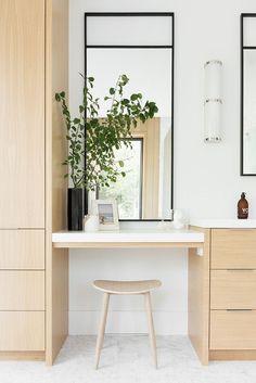 modern minimal bathroom decor with light wood cabinets, minimalistic scandinavia. modern minimal bathroom decor with light wood cabinets, minimalistic scandinavian bathroom design # Minimal Bathroom, Modern Bathroom Design, Bathroom Interior Design, Home Interior, Simple Bathroom, Colorful Bathroom, Interior Modern, Bath Design, Bathroom Designs