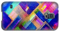 Color Explosion 1 Galaxy S5 Case by Gale Patterson.