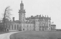 Hooton Hall, Ellesmere Port, Cheshire. Demolished in 1932 due to neglect and wartime use.