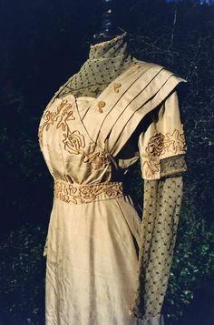 robe de promenade ou de visite Museum du Costume de Palermo 1908