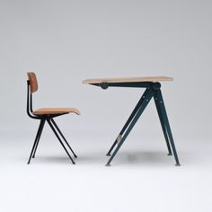 nuuro:  Drafting table and chair by Wim Rietveld  Friso Kramer (via prate)