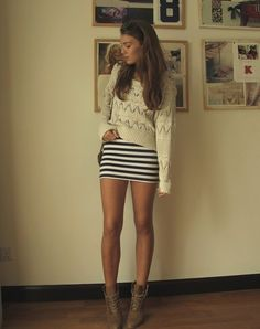 too bad I don't have legs like this.. kinda makes the look
