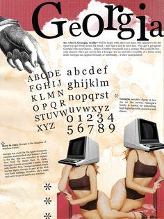 """georgia typeface poster""的图片搜索结果"