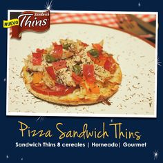 Pizza Sándwich Thins.