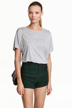Camiseta amplia de punto | H&M