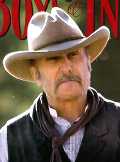 Robert Duvall in Broken Trail, the last of what he calls his Trail Boss trilogy (Lonesome Dove, Open Range and Broken Trail).  Has a great way with a hat, and not a bad actor, either.