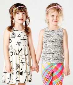 """I don't care what those people said in their comments; the outfit on the right is adorable, and you don't have to match all of the time to """"look good."""" I would totally dress my future kids up like this!"""
