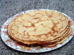 Main photo of Salted crepe dough - Repostería - Crepes Rellenos, Crepe Recipes, Pancakes, Healthy Recipes, Healthy Food, Baking, Breakfast, Ethnic Recipes, Easy