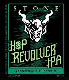 mybeerbuzz.com - Bringing Good Beers & Good People Together...: NEW:  Stone Hop Revolver IPA (Rotating Single-Hop ...