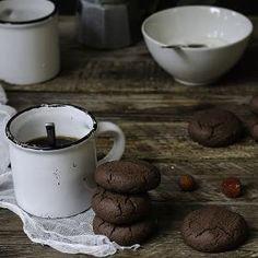 Biscottini al cacao facili e leggeri