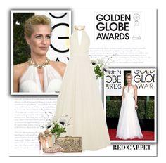 """Golden Globe Awards"" by bliznec ❤ liked on Polyvore featuring LSA International, Jenny Packham, Element and Christian Louboutin"