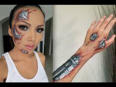 robot hands makeup - Buscar con Google