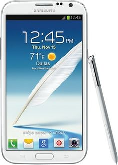 Samsung - Galaxy Note II 4G Mobile Phone - White (Sprint) in Week of November 25, 2012 from Best Buy on shop.CatalogSpree.com, my personal digital mall.
