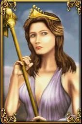 Hera  (Juno - Roman) Queen of the gods - Greek mythology