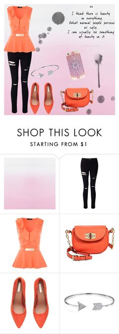 """ready to take on the world"" by sarah-004 on Polyvore featuring Miss Selfridge, Jane Norman, Merona, H&M and Bling Jewelry"