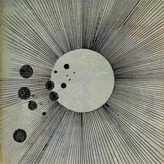 Cosmogramma by Flying Lotus. Design by Leigh McCloskey.