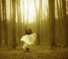 She danced among the trees   Flickr - Photo Sharing!