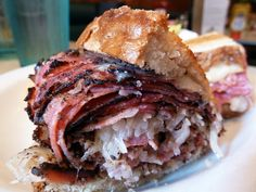 TooJay's Gourmet Deli - Pastrami and turkey pastrami sandwiches