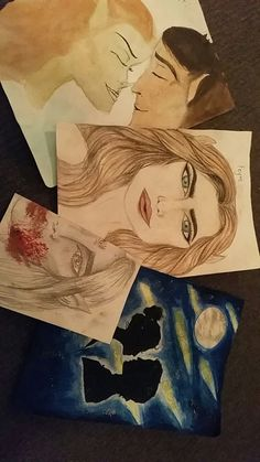 I cant stop drawing Feyre. Please dont judge my skill level, its all fun and games