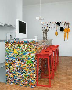 Shake My Blog | Un comptoir en Lego