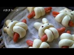 [厨男王一刀] 香肠小兔子馒头