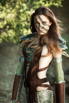 Skyrim Aela the Huntress Cosplay on Global Geek News.