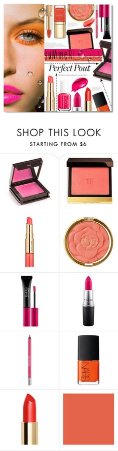 """Summer Lipstick"" by chocolate-addicted-angel on Polyvore featuring beauty, Jouer, Tom Ford, Estée Lauder, Mary Greenwell, Milani, Dolce&Gabbana, MAKE UP FOR EVER, MAC Cosmetics and Urban Decay"