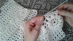 """Пуловер """"Цветочный"""". Часть 3/Pullover Crochet"""