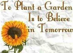 True....must be why I always loved my garden.