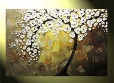 Original Abstract Tree Painting, Textured Tree of Life, Floral Painting Tree Of Life Painting, Abstract Tree Painting, Abstract Flowers, Abstract Art, Kygo Wallpaper, Texture Painting, Contemporary Paintings, Flower Art, Original Art
