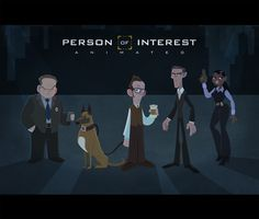 Person of Interest Animated by Juan Manuel Reggi, via Behance