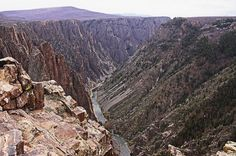 Rachel and Melinda explore Black Canyon of the Gunnison
