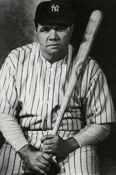 Babe Ruth New York Yankees Baseball Poster Art Sports Photo Artwork or Yankees Baby, New York Yankees Baseball, Baseball Bats, Espn Baseball, Better Baseball, Baseball Store, Marlins Baseball, Damn Yankees, Twins Baseball