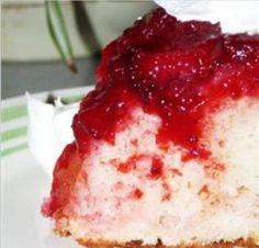 Fresh Strawberry Upside Down Cake Recipe