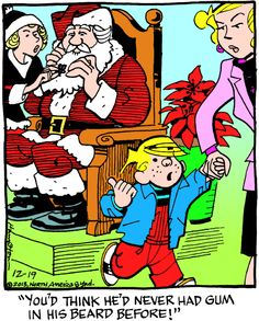 Dennis the Menace Cartoon for Dec/19/2013