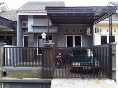 60 Model Pintu Pagar Rumah Minimalis Dari Kayu Dan Besi Sederhana House Design