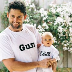 Fathers Day Gift Idea - These witty shirts are too cute.