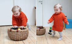 Troublemaker Sweater - the perfect knit sweater dress for a little girl!