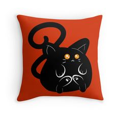Chubby Black Cat