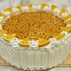 Túrós-joghurtos-tejszínes torta erdei gyümölcsökkel Oreo, Food And Drink, Birthday Cake, Pudding, Easter, Sweets, Poppy, Cakes, Hungarian Recipes