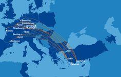 Vols vers la Turquie à partir de 49,99€