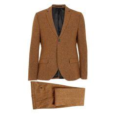 Camel Fleck Suit #Topman