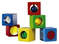Discovery Blocks - 6 Piece Wooden Block Set | HABA USA