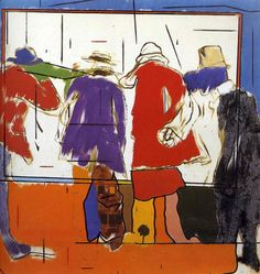The friendship and the shadow of betrayal - R. B. Kitaj